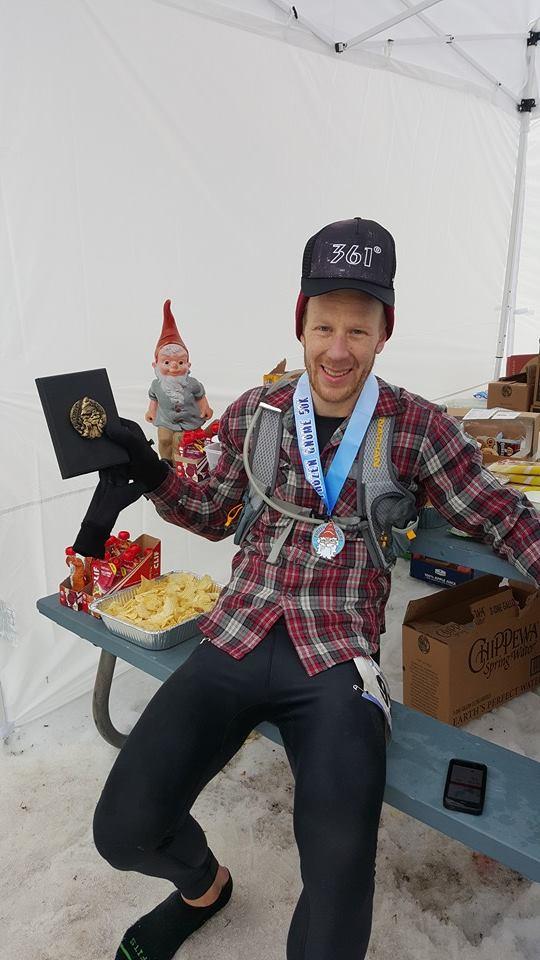 Ryan Richert - 2016 Frozen Gnome 50k winner