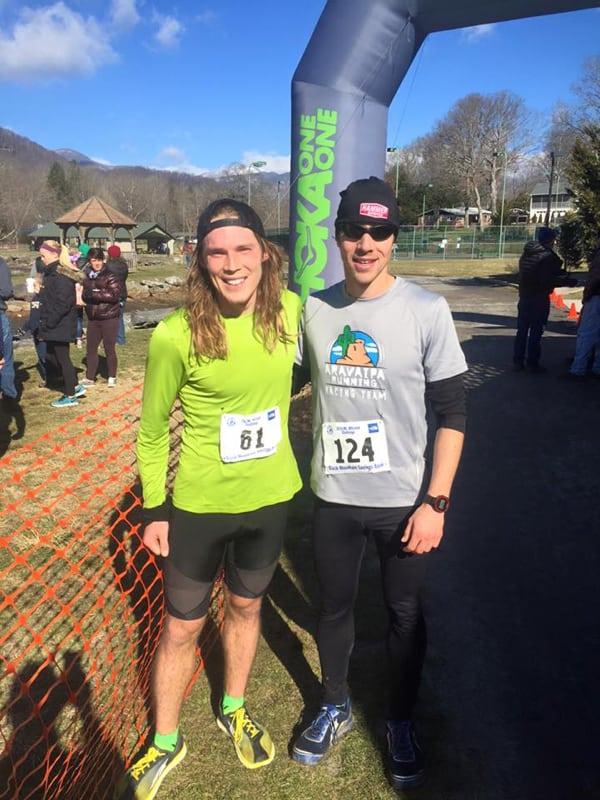Elliott and McGowan, by Mt Mitchell Challenge