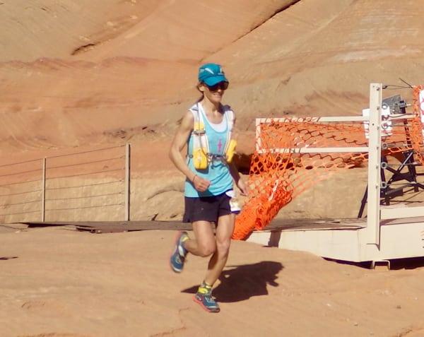 Melissa Beaury - 2016 Antelope Canyon 50 Mile champion