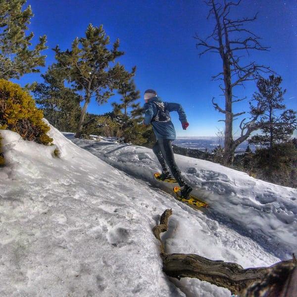 Zach Miller - snowshoeing