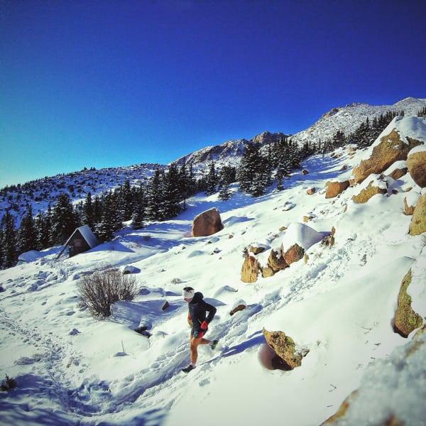Zach Miller - Pikes Peak high country winter