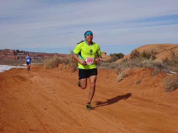 2016 Red Hot Moab 33k winner and second place