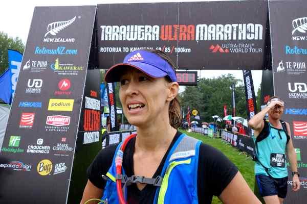 Fiona Eagles - 2016 Tarawera Ultramarathon