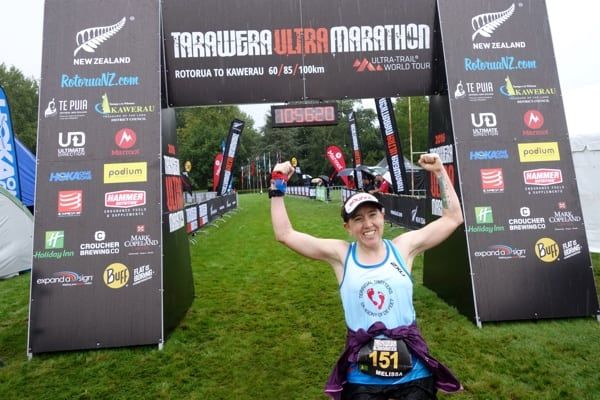 Melissa Robertson - 2016 Tarawera Ultramarathon -