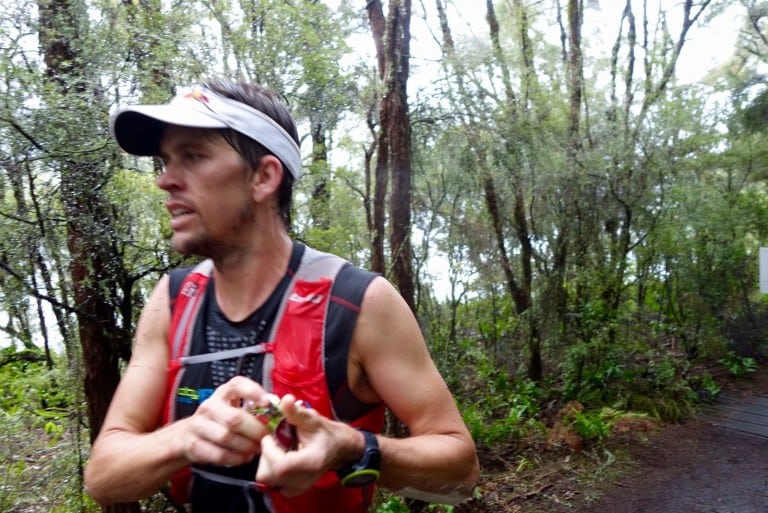 Ryan Sandes - 2016 Tarawera Ultramarathon third place