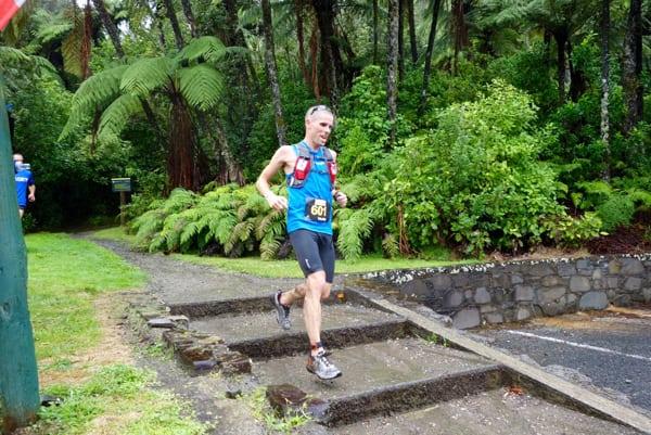 Vajin Armstrong - 2016 Tarawera Ultramarathon fifth place