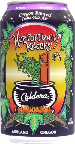 Caldera Brewing Company Hopportunity Knocks IPA