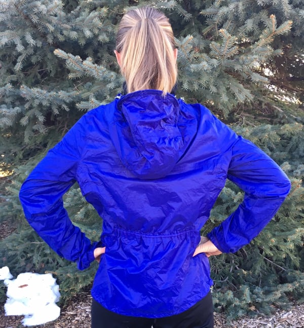 Ultimate Direction Women's Ultra Jacket back view