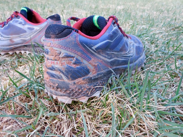 Saucony Peregrine 6 lateral upper