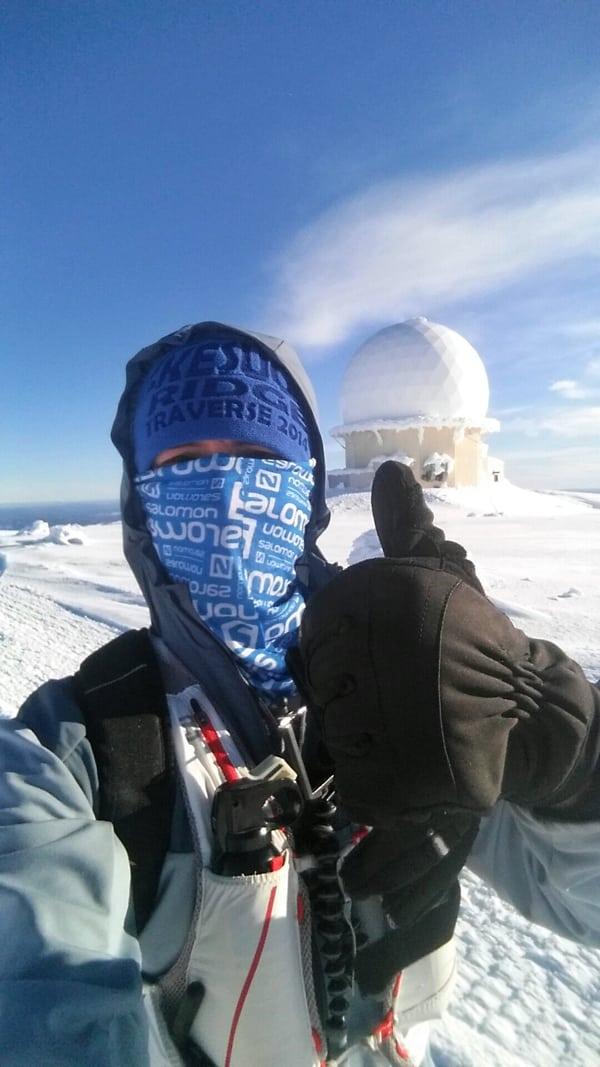 Allan Spangler - Indian Mountain summit AK