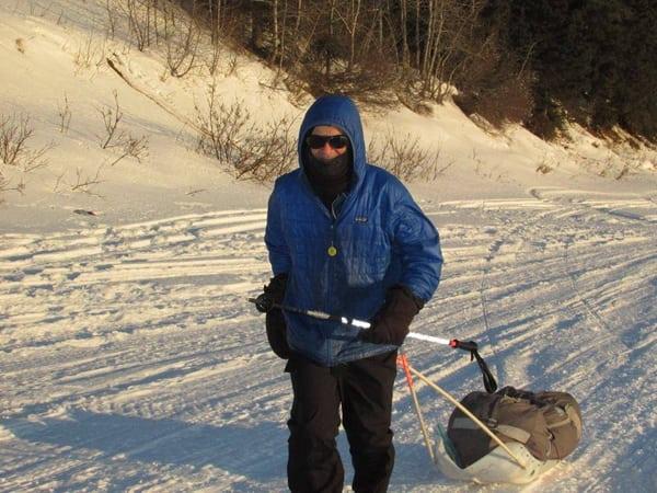 Tim Hewitt, 2016 Iditarod Trail Invitational champion