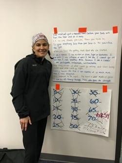 Suzi Swinehart 12-Hour treadmill record
