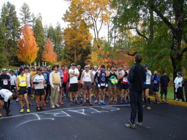 Todd Ragsdale at the Lithia Loop Trail Marathon