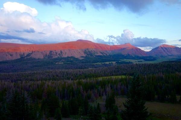 Going Primal - Uinta Sunset - Photo Meghan Hicks
