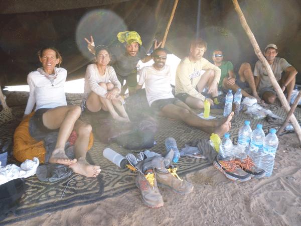 Tent 166 - 2016 Marathon des Sables 2