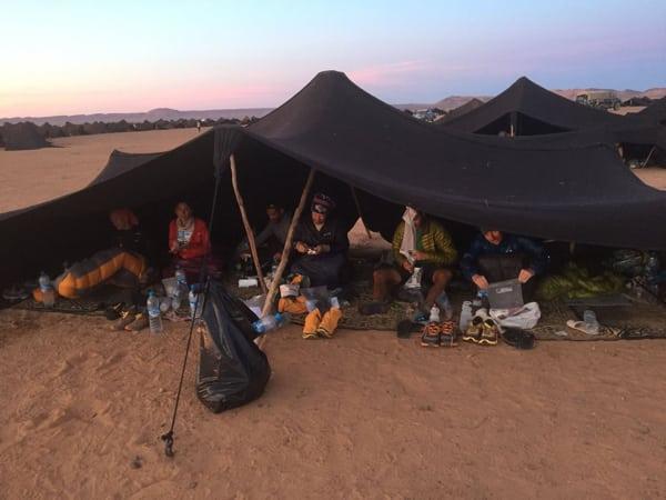 Tent 166 - 2016 Marathon des Sables
