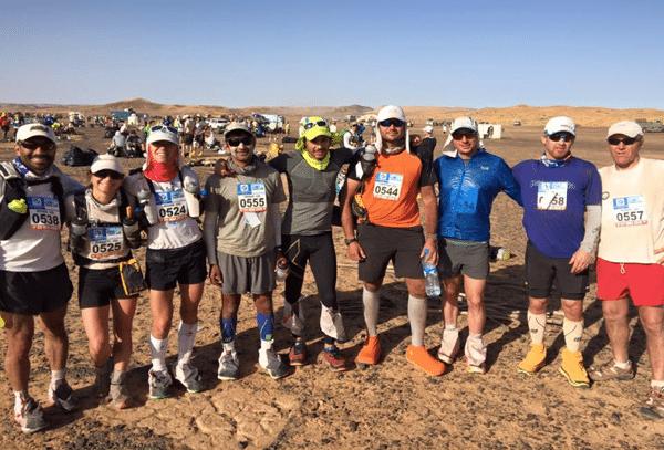 2016 Marathon des Sables competitors