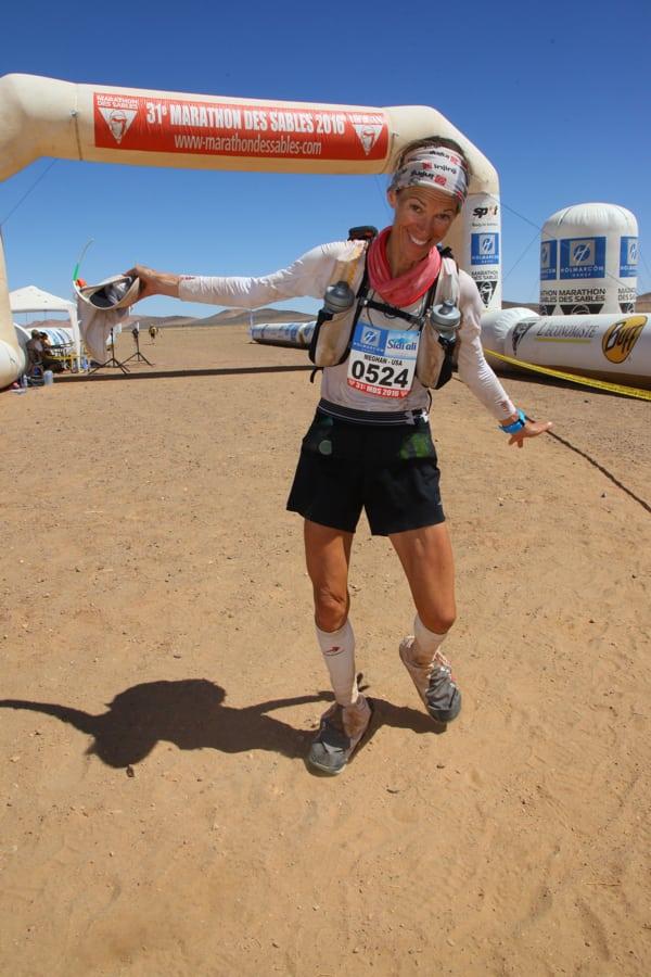 Meghan Arbogast - 2016 Marathon des Sables 1
