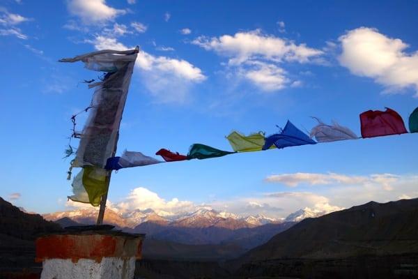 Prayer flags - 2015 Mustang Trail Race
