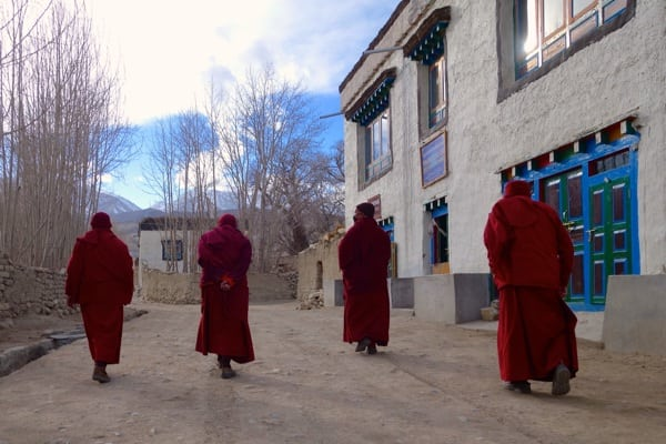 Monks - Lo Manthang - 2015 Mustang Trail Race