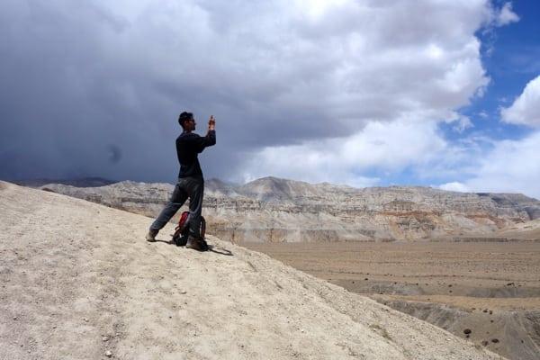 Bikash - 2015 Mustang Trail Race