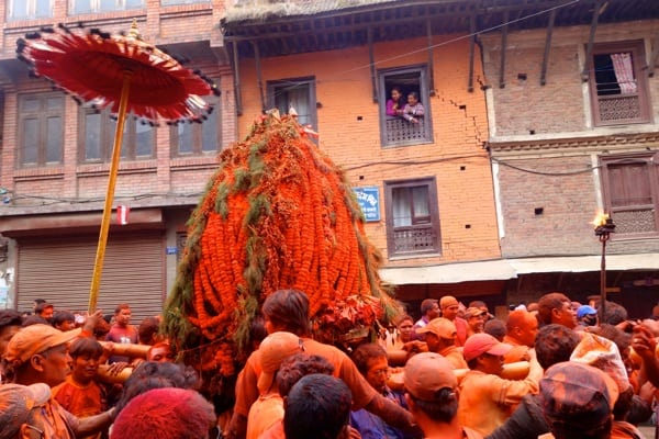 Nepali New Year's Celebration