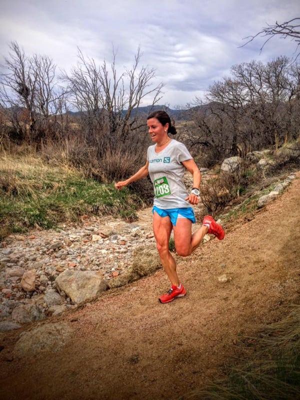 Stevie Kremer - 2016 Cheyenne Mountain Trail Race 25k champion
