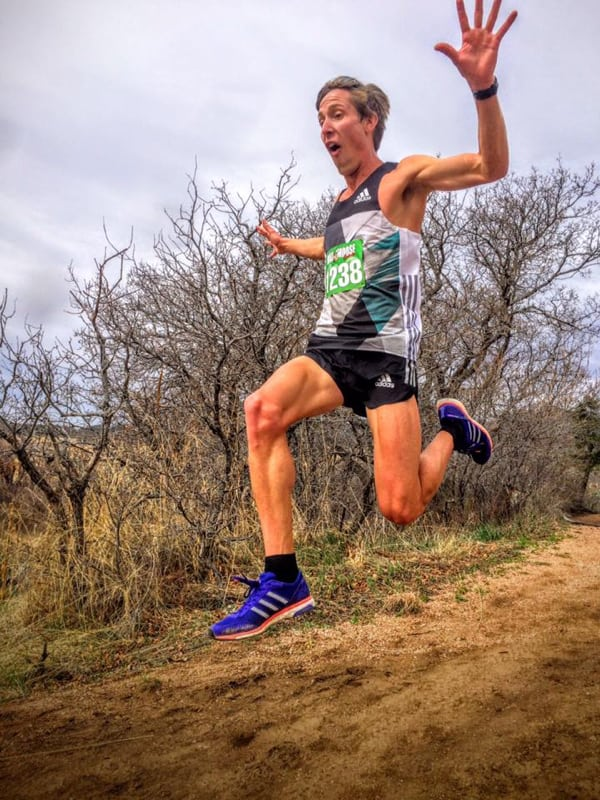 Andy Wacker - 2016 Cheyenne Mountain Trail Race 25k champion