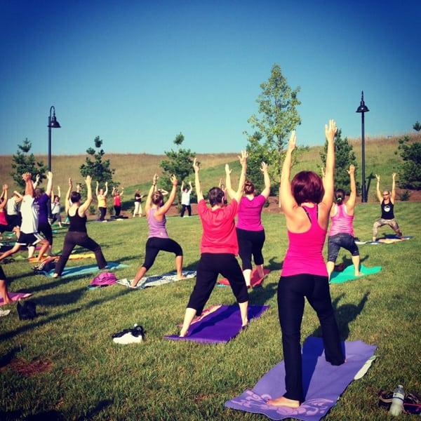 Jenny Nichols 7 - yoga class