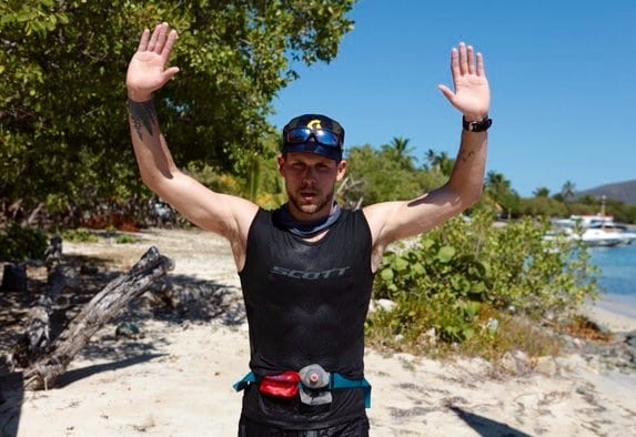 Eric Senseman - 2016 Tortola Torture 50k champion