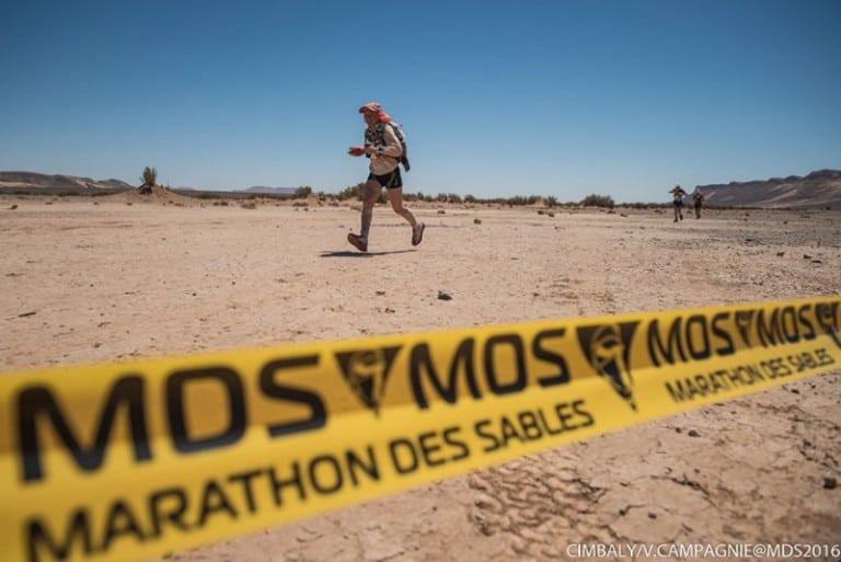 2016 Marathon des Sables Stage 4 - Nathalie Mauclair
