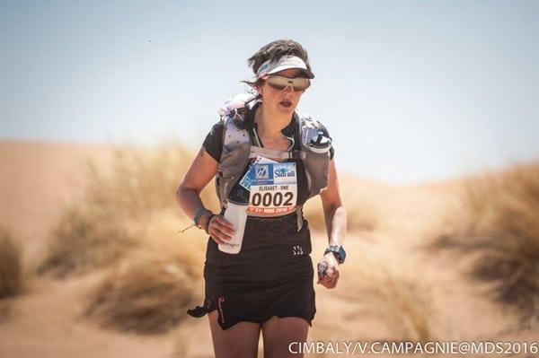 2016 Marathon des Sables Stage 2 - Elisabet Barnes
