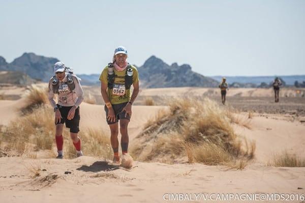 2016 Marathon des Sables - Jason Schlarb and David Hellard