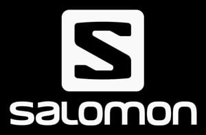 Salomon logo - black