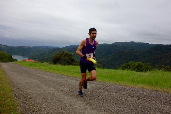 Mario Mendoza - 2016 Lake Sonoma 50 Mile third place