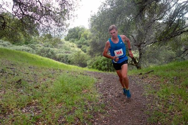Tim Freriks - 2016 Lake Sonoma 50 Mile second place