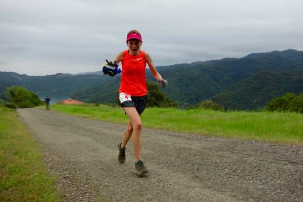 Kaci Lickteig - 2016 Lake Sonoma 50 Mile second place