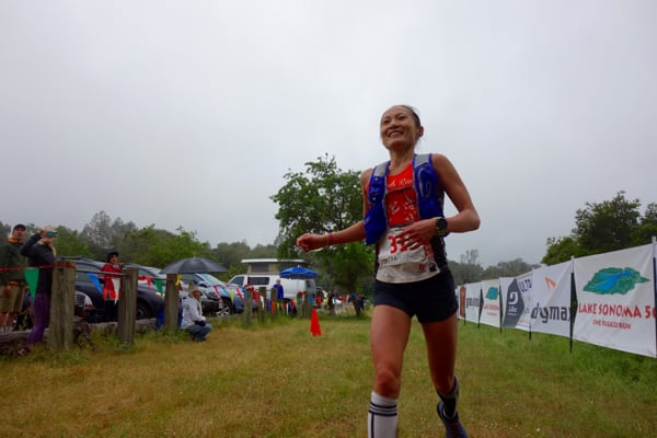 YiOu Wang - 2016 Lake Sonoma 50 Mile champion