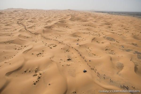 2016 Marathon des Sables Stage 1 - Erg Chebbi dunes