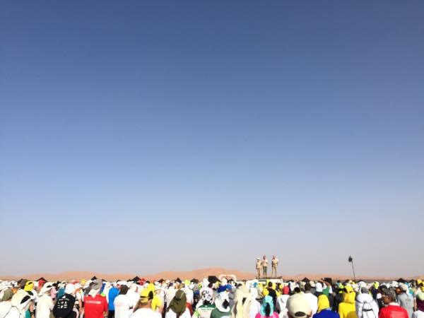 2016 Marathon des Sables check-in day