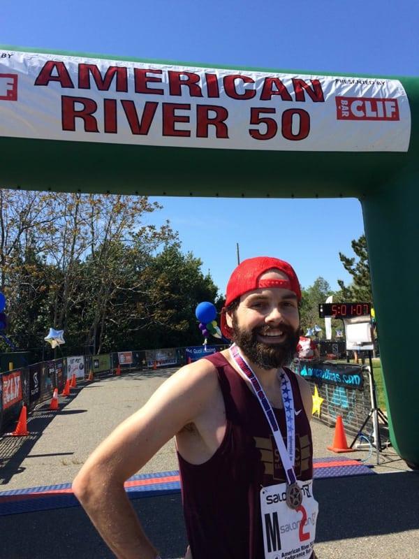Chris DeNucci - 2016 American River 50 Mile champion