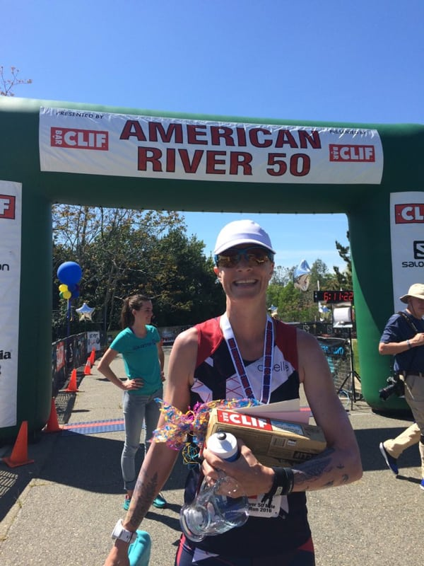 Devon Yanko - 2016 American River 50 Mile champion
