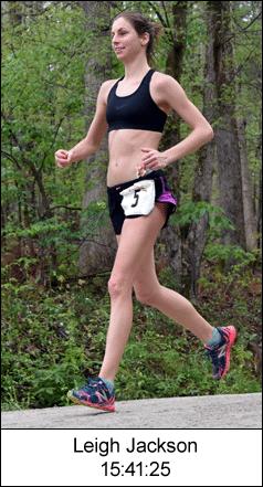 Leigh Jackson - 2016 Umstead 100 Mile champion
