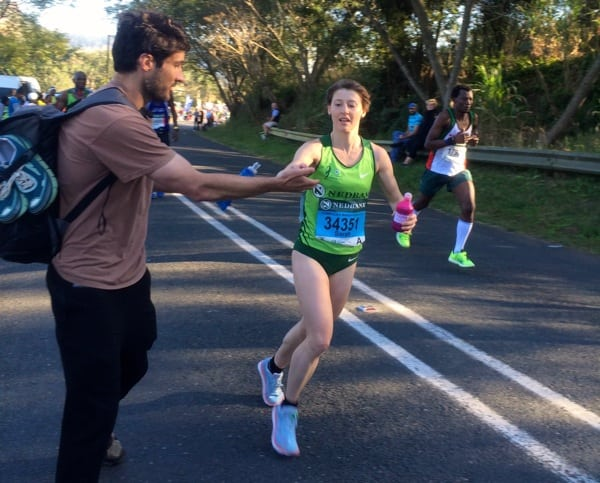Sarah Bard - 2016 Comrades Marathon
