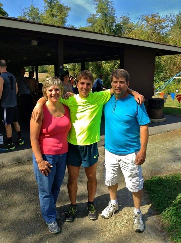 Zach Miller - 2012 Conestoga Trail Run