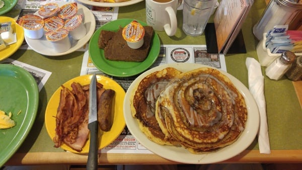 Zach Miller - breakfast