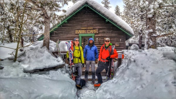 Barr Camp - Backcountry Skiers