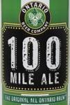 Ontario Beer Co - 100-mile ale