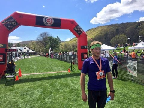 Ryan Atkins - 2016 TNF EC 50 Mile Bear Mountain champion