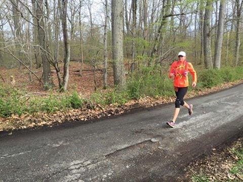 Heather Hoescht - 2016 TNF EC 50 Mile Bear Mountain champion